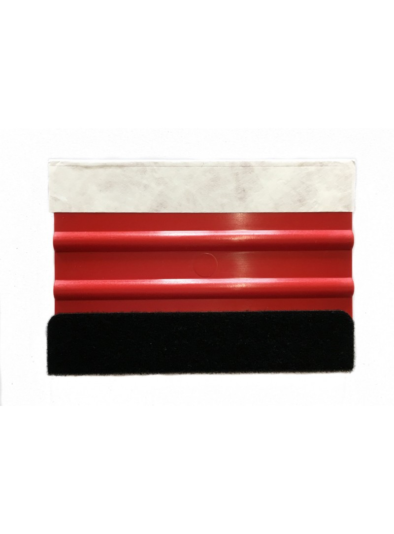 Wrap Star Rakel Rot mit Filzkante und Tyvekkante