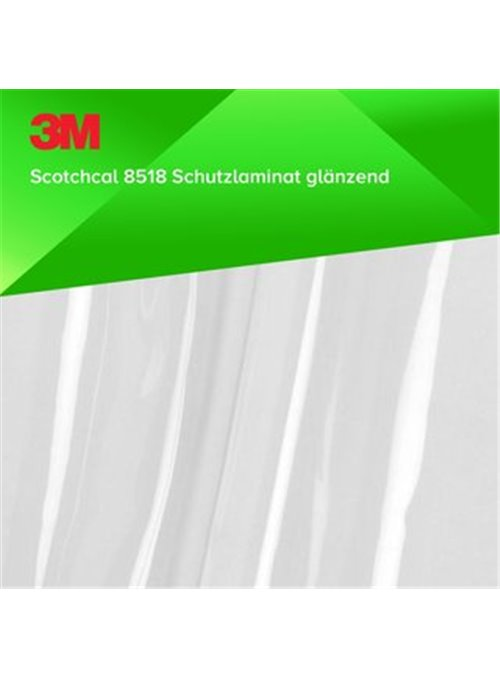 3M Scotchcal 8518 | Schutzlaminat Glanz