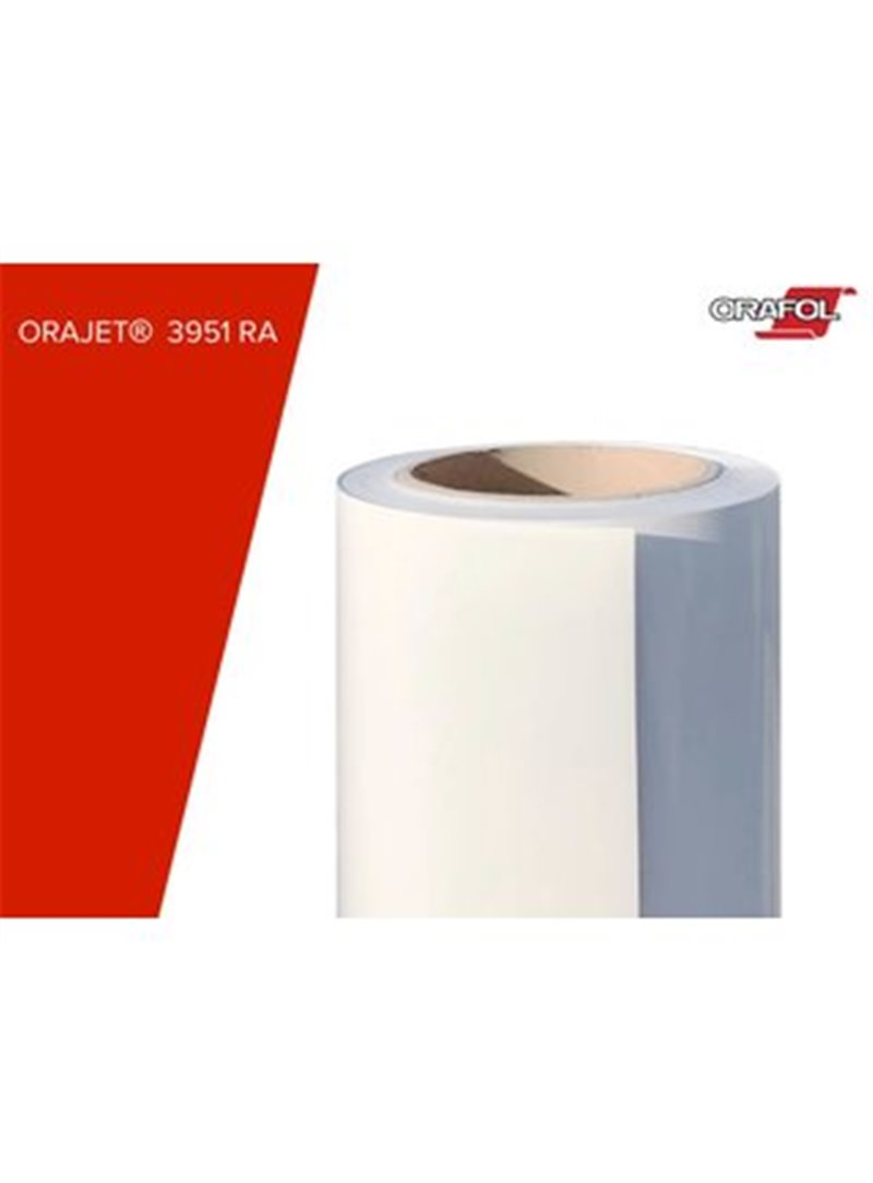 Orajet | 3951 RA Digitaldruckfolie weiß glänzend