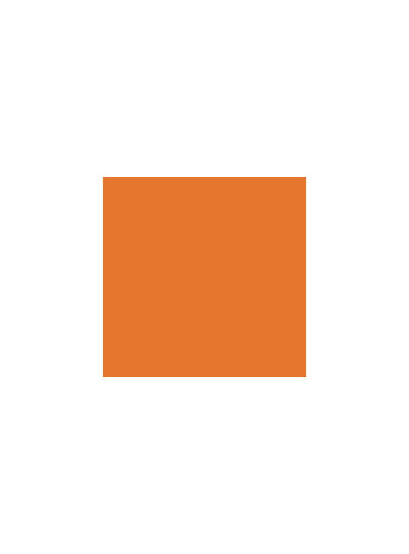 Scheinwerferfolie | Orange | lfd. Meter | Breite 100 cm