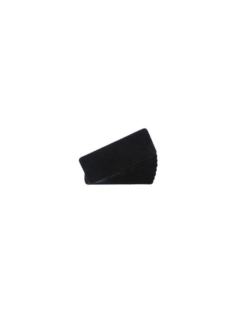 Nadelfilz schwarz | 10 Stück