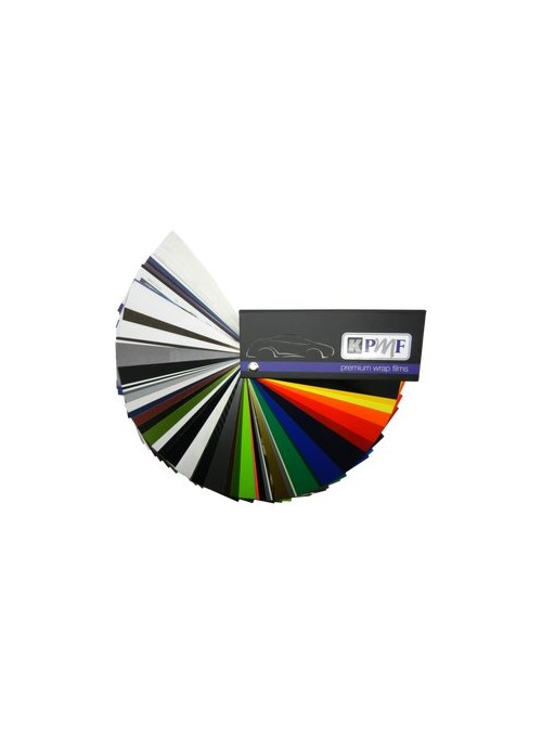 Farbfächer | KPMF CarWrap-Films | inkl. neue Farben!