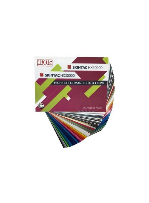 Farbfächer | HEXIS SKINTAC | HX30000 | HX20000