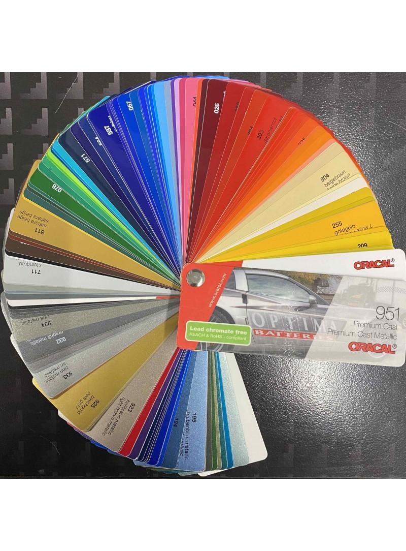 ORAFOL Farbfächer 951