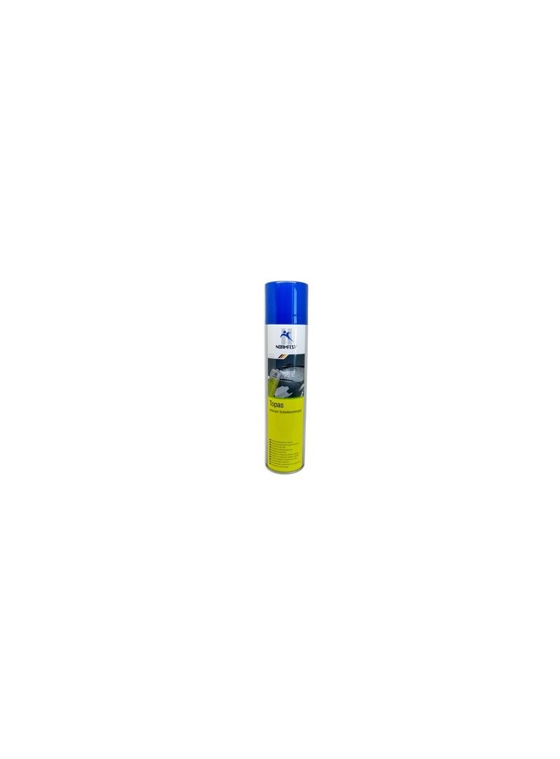 The Topaz Intensive windscreen cleaner removes insect residue quickly and easily