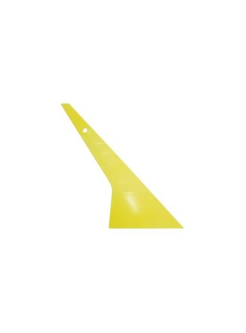 Hervorragender Rakel mit speziell geformten Ecken um schwer erreichbare Stellen einfacher abzurakeln.  Härte: Light