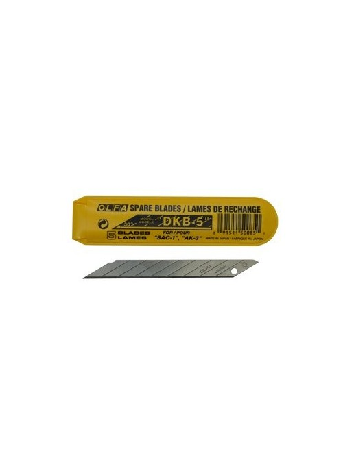Very sharp OLFA snap-off blades with a 30° tip. ideal for Car Wrapping / Vehicle wrapping. for fine Work
