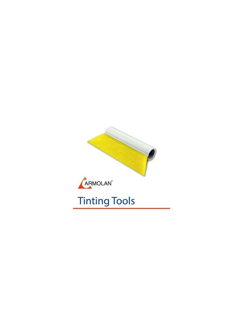 Rubber wiper Yellow 14 cm
