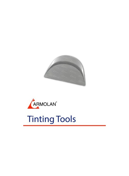 Smart Card squeegee with a rounded back-grey