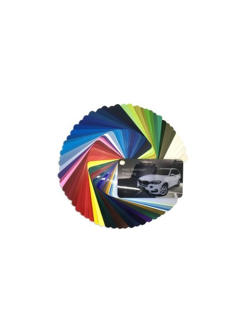 Color boxes | Avery Supreme Wrapping Film | Color Sample Selector | incl. new colors!