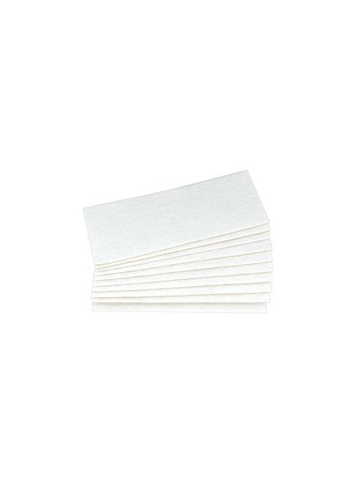 PTFE | needle felting white | 10 pieces
