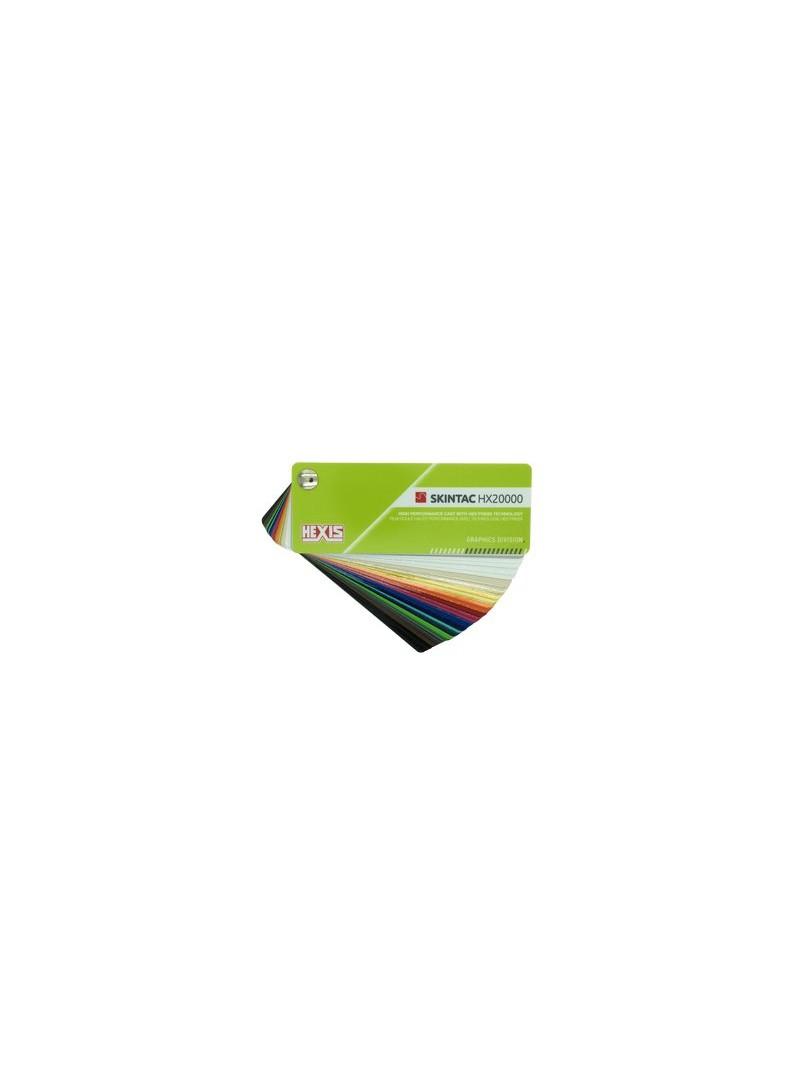 Farbfächer | HEXIS SKINTAC | HX20000